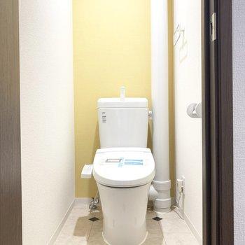 トイレはウォシュレット付き