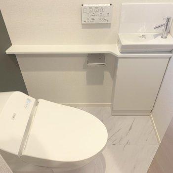 【2階】手を洗うところがついています