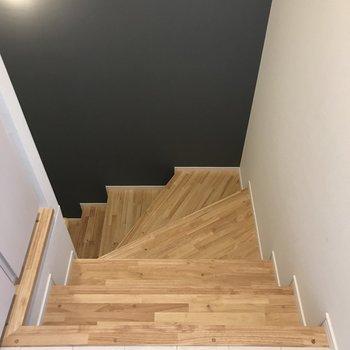 階段をくだっていきましょう。