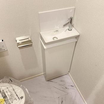 手洗い場もあります。※写真は前回募集時のものです