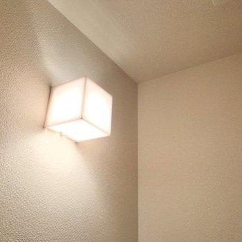 照明も素敵ですよね。