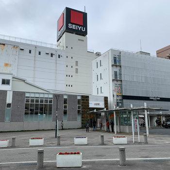 最寄りの久米川駅です。