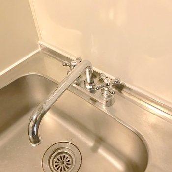 水栓も素敵に変わりました。