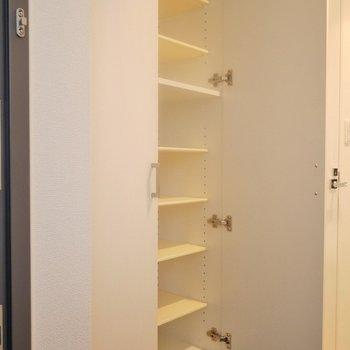 靴以外も置けそう。※1101号室の写真