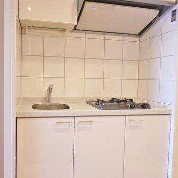 スマートなキッチン。※1101号室の写真