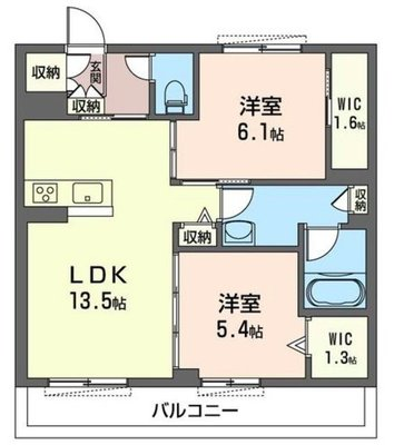 MAST 仮称 新座駅北口マンションB の間取り