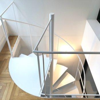 【3F】それでは下の階へいきましょう。