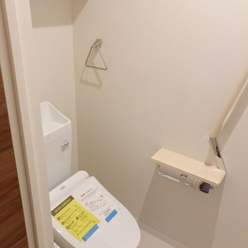 トイレもウォシュレット付きで快適ですよ。