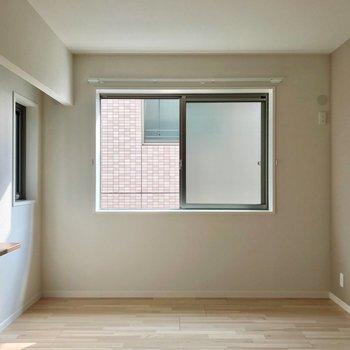 窓があるので換気もラクラクです。