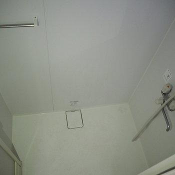 シャワー室です。丁度良い広さです。