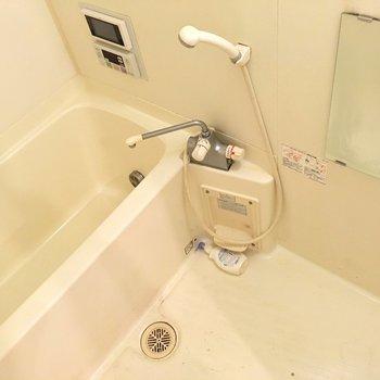 いつでもあったかいお風呂を(※写真は清掃前、同間取り別部屋のものです)