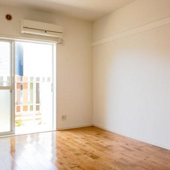 【洋室】寝室はこちらになりそうです。※写真は1階の同間取り別部屋のものです