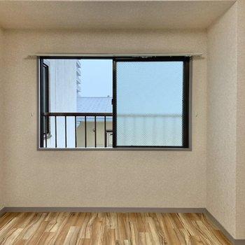 【洋室③】ナチュラルカラーの家具が合いそうなお部屋