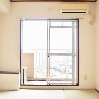 【和室】明るい空間になりそう※写真は5階の同間取り別部屋のものです