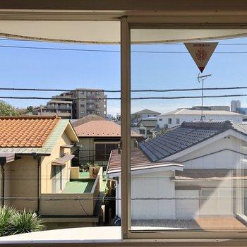 LDKの窓からの眺め。