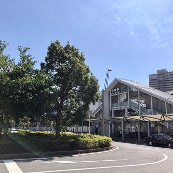 千葉駅北口に到着です。