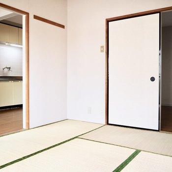 【和室】ここを寝室にするのも1つの手です。※写真は前回募集時のものです