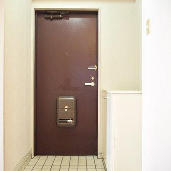 玄関もゆったりと使えそうです。※写真は前回募集時のものです