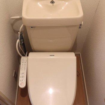 落ち着ける個室トイレ