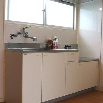 【DK】ベージュボードのキッチン