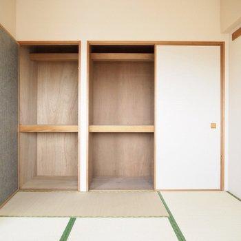 【和室】大容量な収納