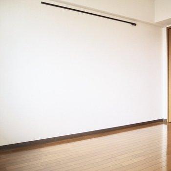 【洋室】ベッドはこちらの壁側に置こうかな