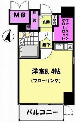 千葉本町スカイマンション の間取り