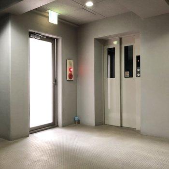 エレベーターも完備されています