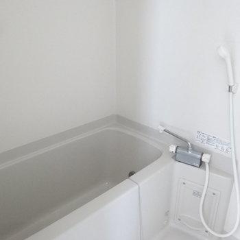 お風呂もキレイです。(※写真は10階の同間取り別部屋のものです)