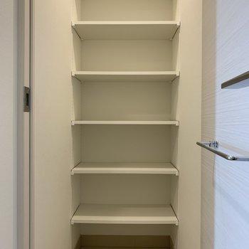 靴の収納には困りませんね※写真は5階の同間取り別部屋のものです