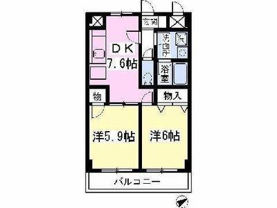 渋谷ビル の間取り