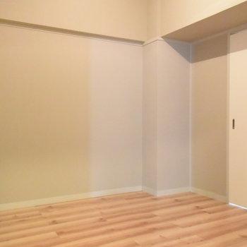 洋室②とはスライドドアで仕切れますよ