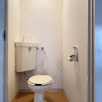 トイレは落ち着きます