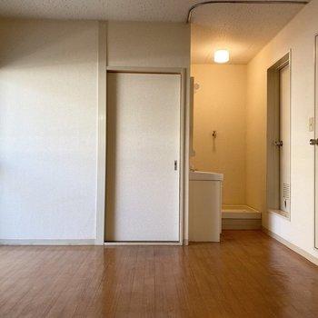 【DK】正面の扉から洋室へ