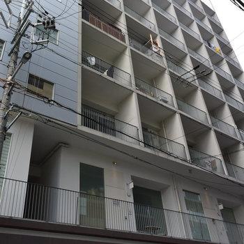 1・2階には病院などのテナントが入ります