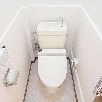 少し昔の面影のあるトイレでした。