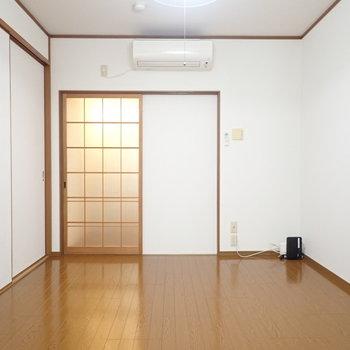 奥の部屋。使いやすそうな広さです。