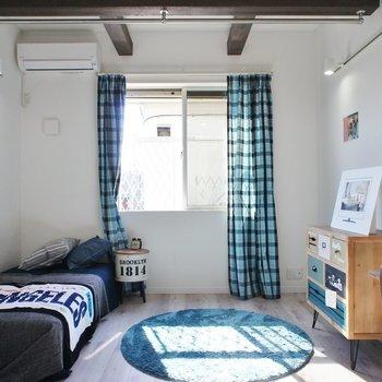 2階のお部屋から。※写真は1階の同間取り別部屋のものです