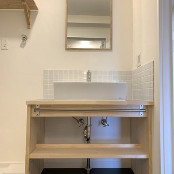 【イメージ】可愛らしい造作洗面台へへーんしん!