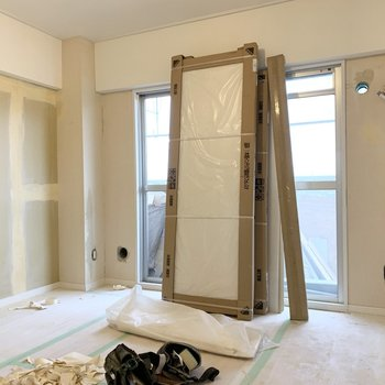 【工事中】寝室になるお部屋でしょうか、、