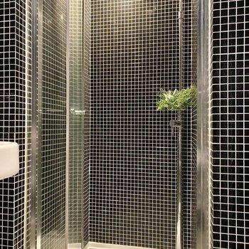 浴室はシャワーボックス。
