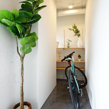 自転車やベビーカーはもちろん※写真はイメージです