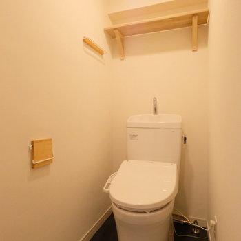 トイレ本体もウォシュレットも新しくなりました!
