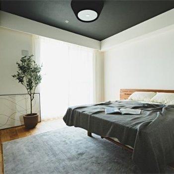 7.5帖のお部屋。気持ちよく目覚められそうです!※家具はイメージです。