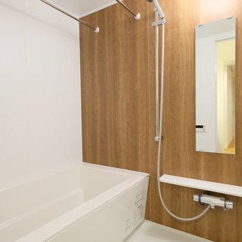 お風呂は浴室乾燥、追い焚きのついた新品です