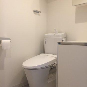 温水洗浄つきトイレ!