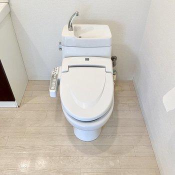 トイレもサニタリーにまとまっています。