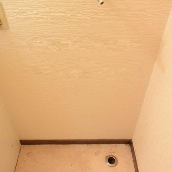 【2階】洗濯機置き場ももちろんあります