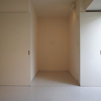 フリースペース。どう使おう?※写真は3階の同間取り別部屋のものです