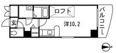 Katayama BLDG 21 の間取り
